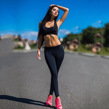 Black Active Energy Leggings