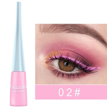 Waterproof Colorful Liquid Eyeliner (12 Colors)