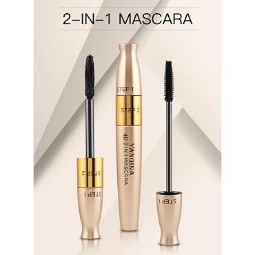 4D Silk Fiber 2 in 1 Mascara