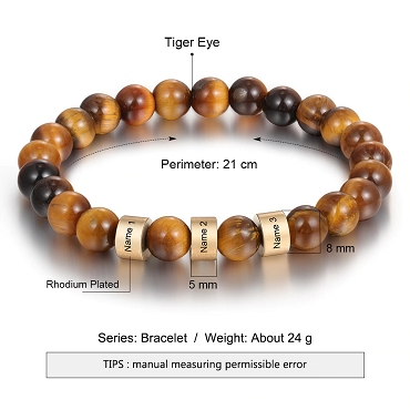 Personalized Bead Bracelet