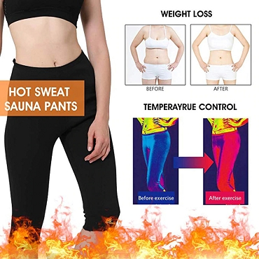 Womens Sauna Pants-  Weight Loss And Body Shaping